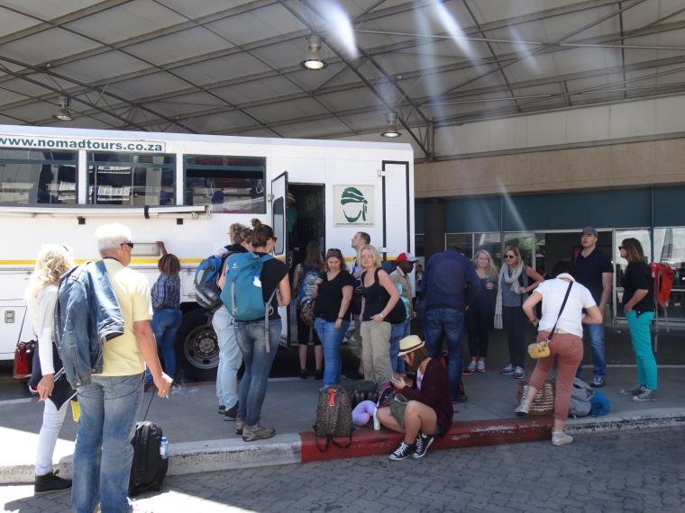 aankomst Johannesburg - truck (2)